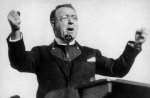 Father Charles Coughlin at the height of his powers