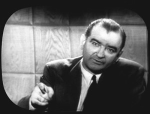 Senator McCarthy responds to Edward R. Murrow in 1954