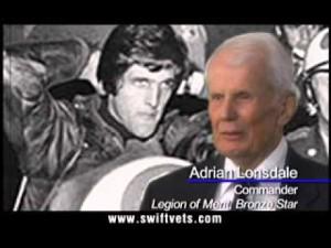 "Screen shot of 2004 ""Swift Boat Veterans"" ad against John Kerry"