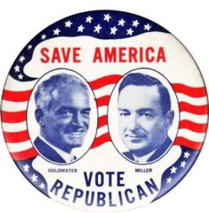 Date the modern GOP to 1964