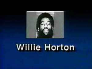 "Screen shot of 1988 ""Willie Horton"" ad"