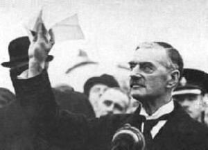Neville Chamberlain in 1938