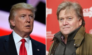 President-elect and new White House Chief Strategist